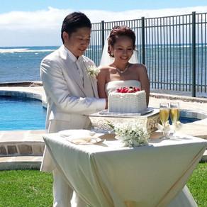 憧れのビーチでの結婚式