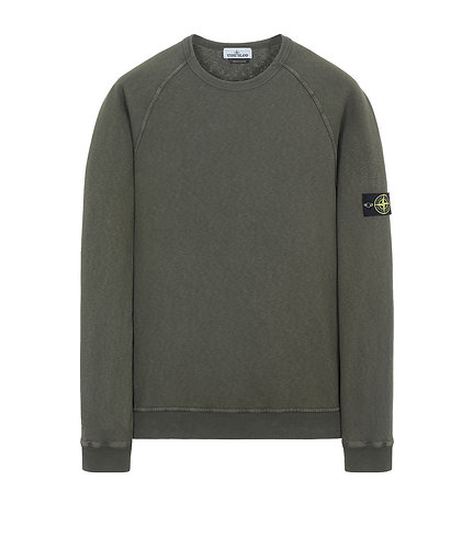 Stone Island Sweatshirt Olive Green