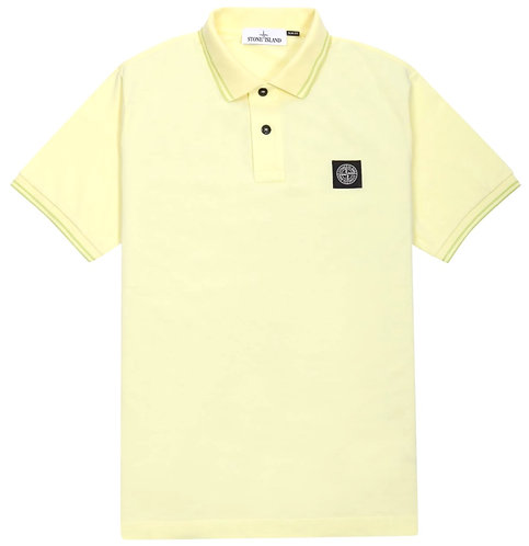 Stone Island Polo Shirt Lemon