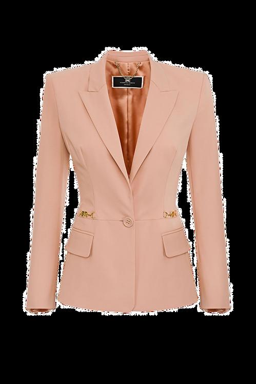 Elisabetta Franchi Low-cut jacket rouge
