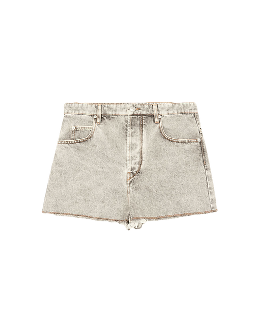 Isabel Marant Lesiasr Shorts Grey