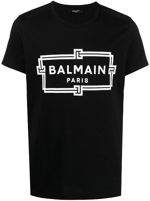 Balmain Paris Logoprint T-shirt Black
