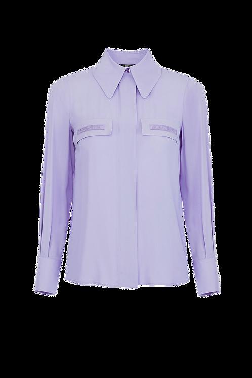 Elisabetta Franchi Blouse Lavender