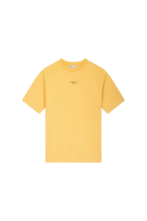 Drôle de Monsieur T-shirt Yellow