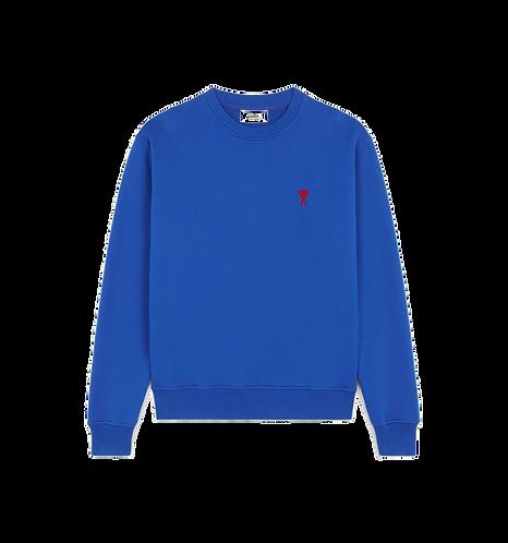 Ami Paris De Coeur Sweatshirt Blauw