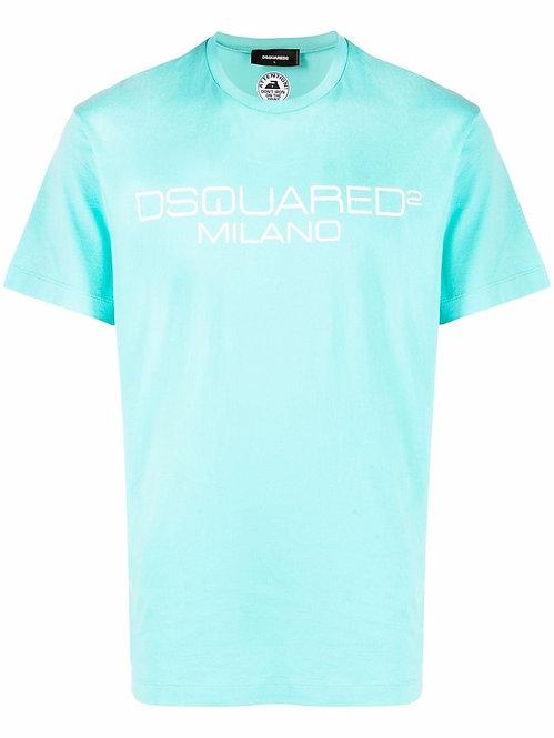 Dsquared2 Milano Logo T-shirt Light Blue