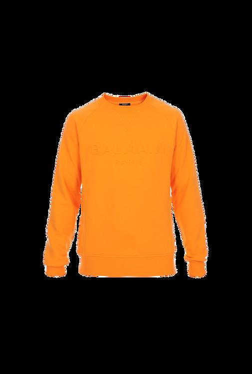 Balmain Sweatshirt Orange