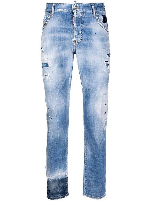 Dsquared2 Skater Jeans D2 Denim Blue
