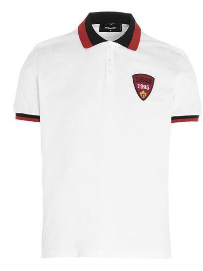 Dsquared2 DSQ2 Polo Shirt White