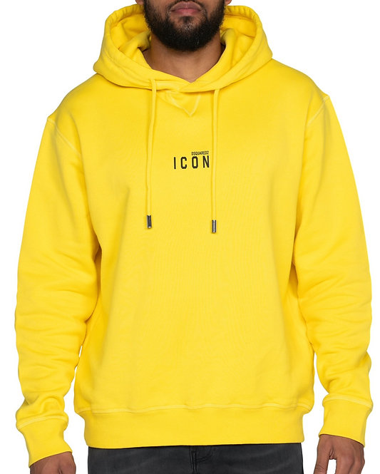 Dsquared2 Icon Hoodie Yellow