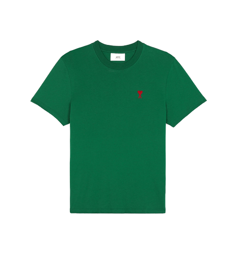 Ami Paris De Coeur T-shirt Groen
