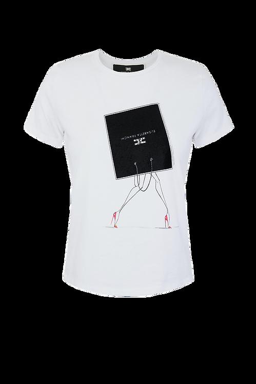 Elisabetta Franchi T-shirt White