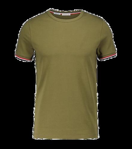 Moncler Basic T-Shirt Green