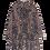 Thumbnail: Ganni Poplin Oversized Dress Panter Printed