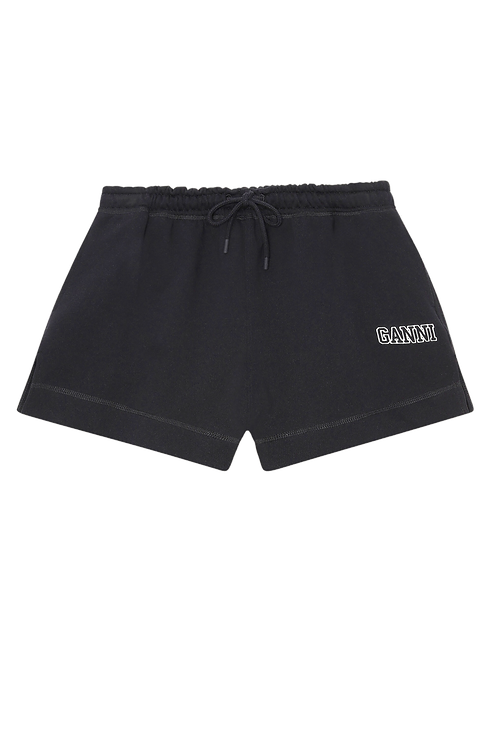GANNI Software Shorts Black