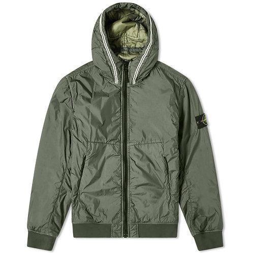 Stone Island Garment Dyed Crinkle Reps Jacket Green