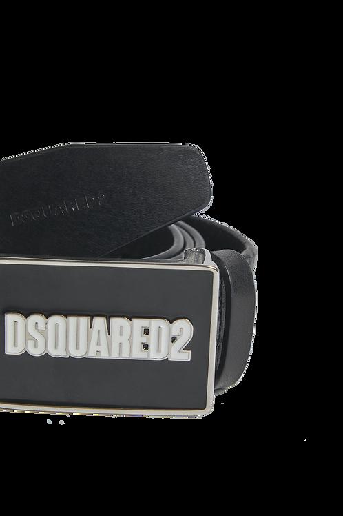 Dsquared2 Plaque Belt Black