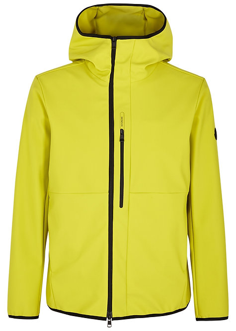 Moncler DARC Soft Shell Jacket Yellow