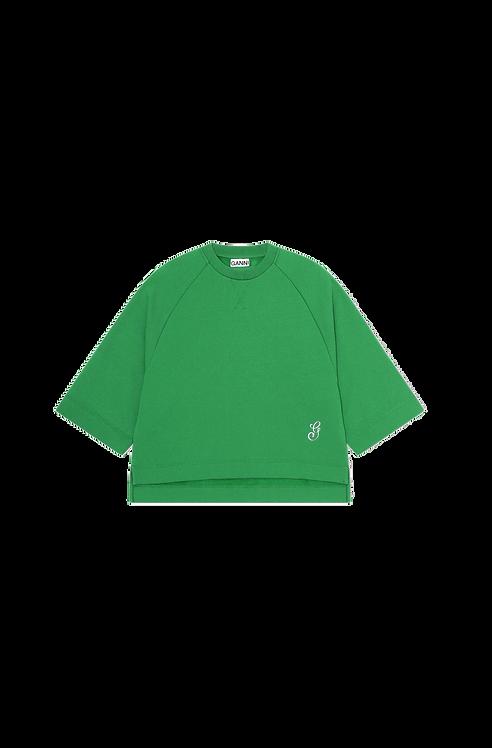 GANNI Isoli Oversized Raglan Sweatshirt