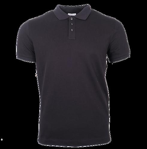 Moncler Polo Shirt Zwart
