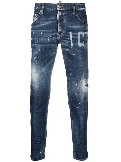 Dsquared2 Skater Jeans ICON Denim Blue