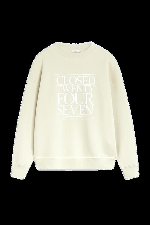 CLOSED Sweatshirt met Logo Mint