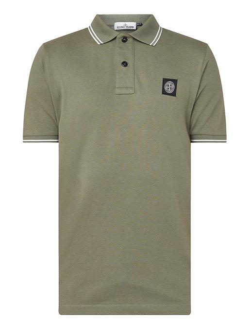 Stone Island Polo Shirt Olive Green