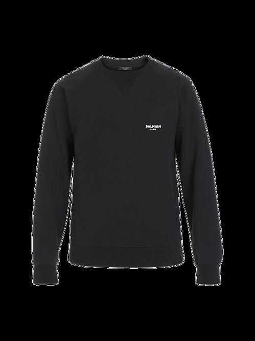 Balmain Mini Logo Sweatshirt Black