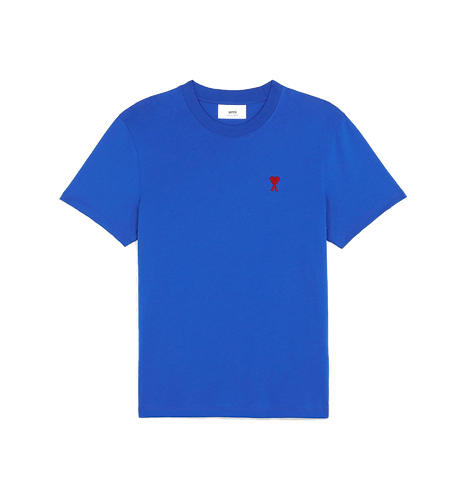 Ami Paris De Coeur T-shirt Royaal Blauw