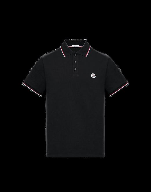 Moncler Basic Polo Black
