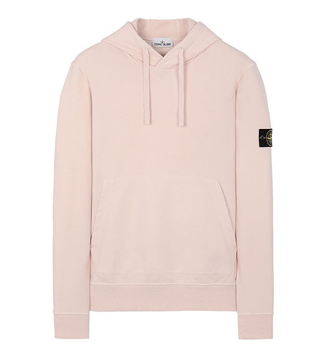 Stone Island Hooded Sweatshirt Pastel Pink