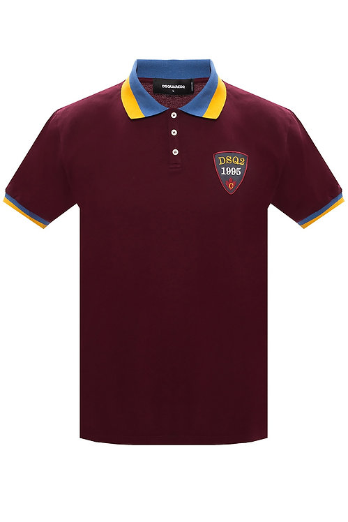 Dsquared2 DSQ2 Polo Shirt Red