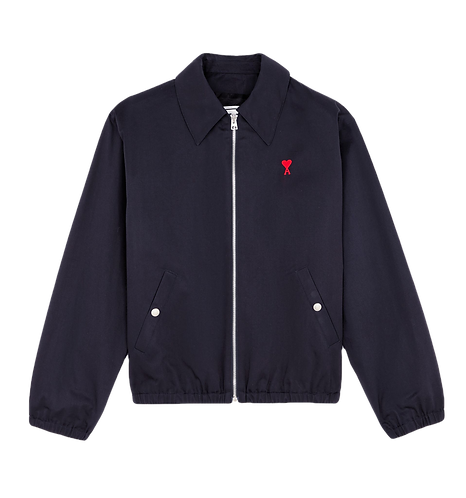 Ami Paris Jacket Dark Blue