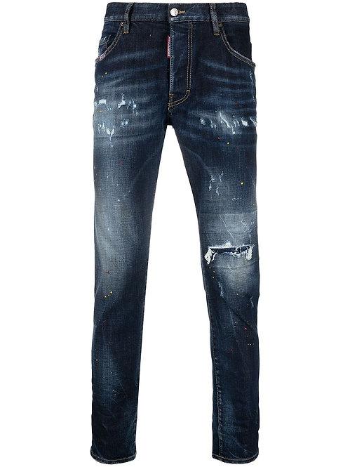 Dsquared2 Skater Jeans Denim Blue
