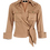 Thumbnail: Elisabetta Franchi Cotton crop shirt dove grey