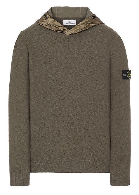 Stone Island Sweater Olive Green