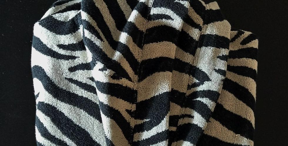 Zebra Robe