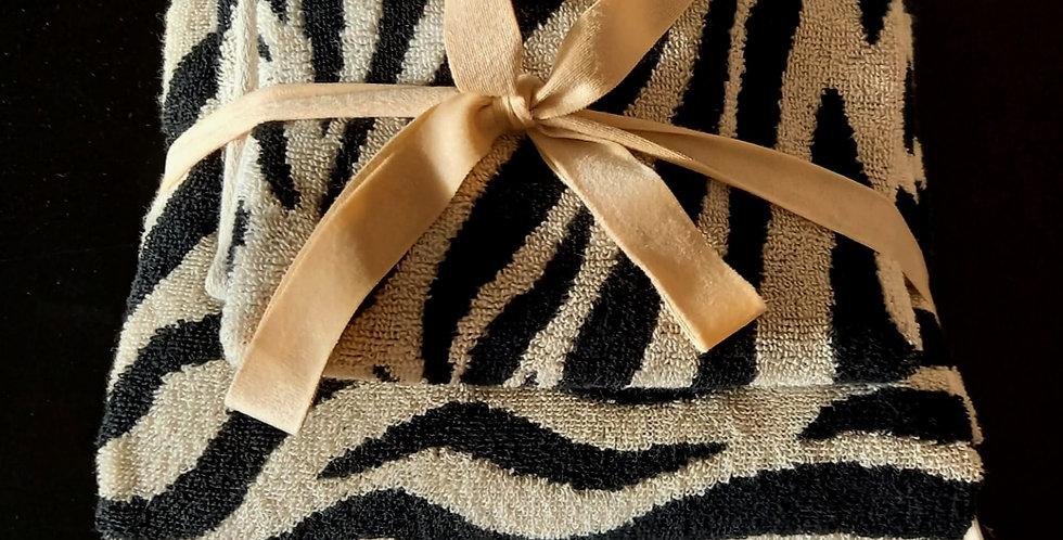 Zebra Towels