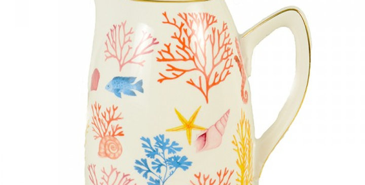 Coral Porcelain Thermos