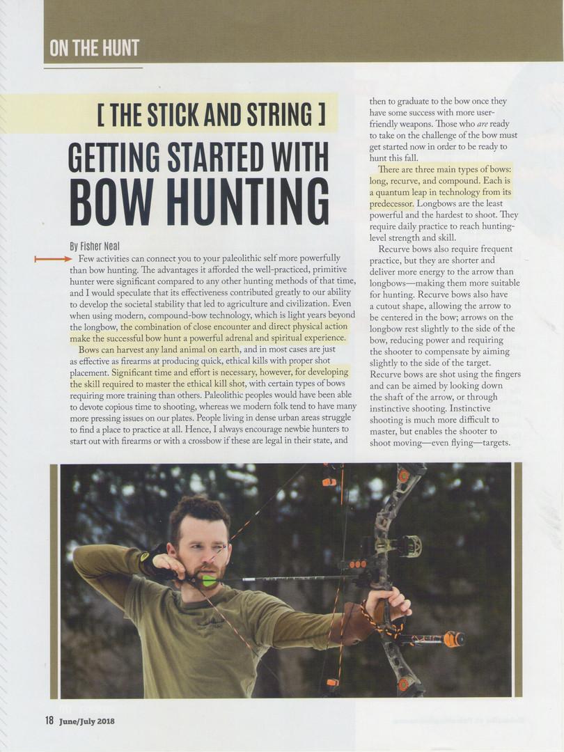 Bowhunting Basics Page 1
