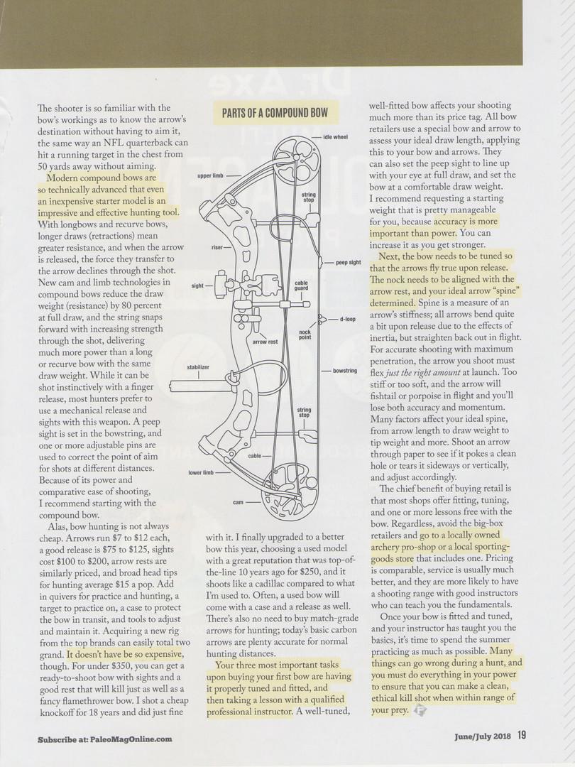 Bowhunting Basics Page 2