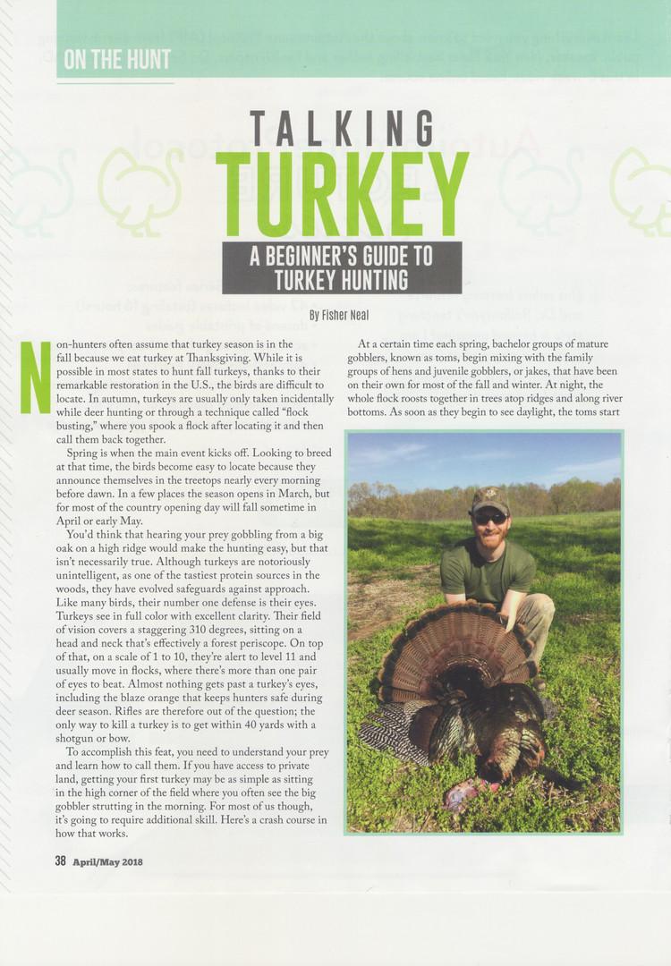 Talking Turkey Page 1