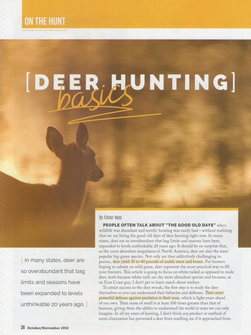 Deer Basics Page 1