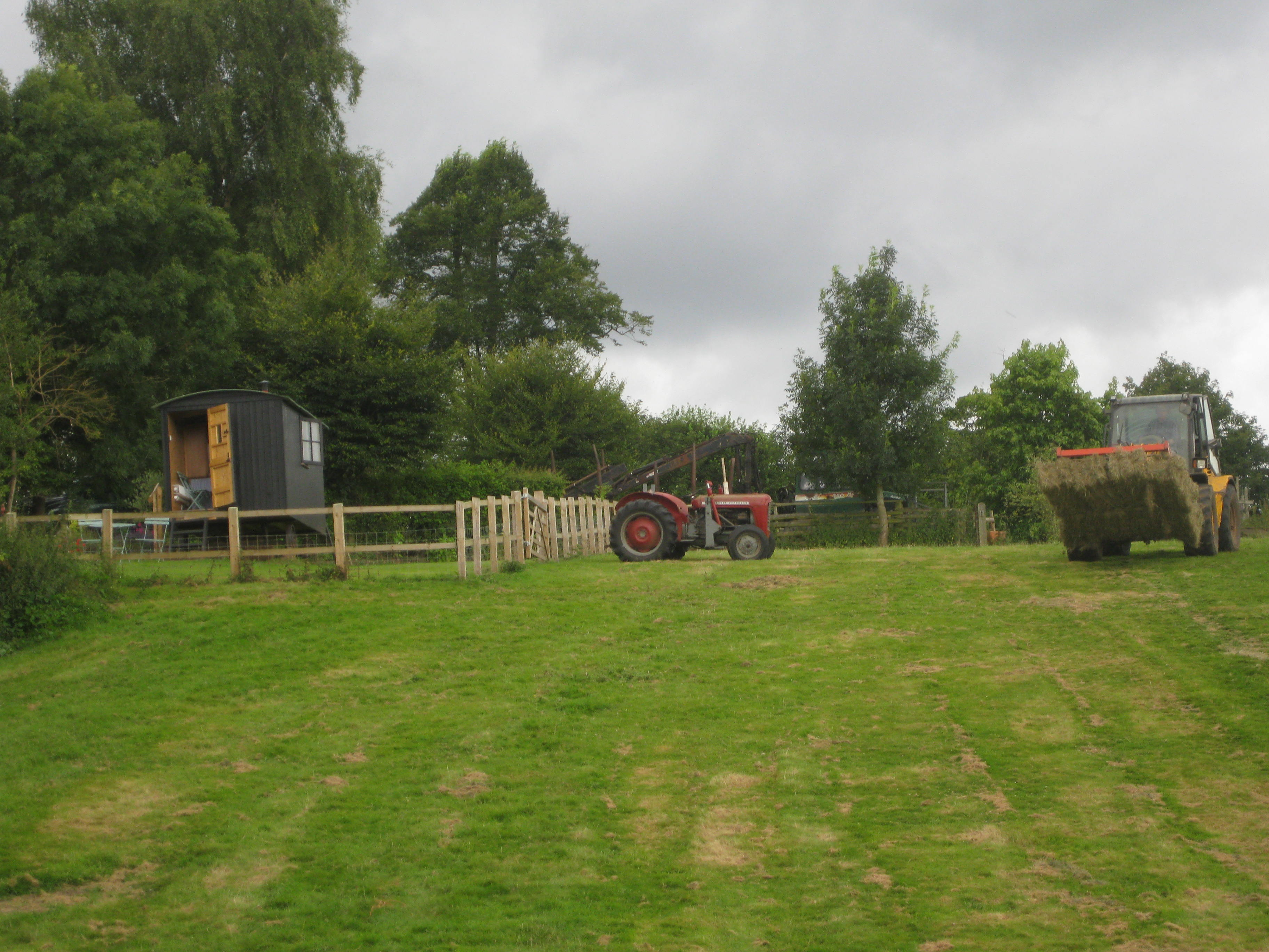 The Hut before the Arc and decking