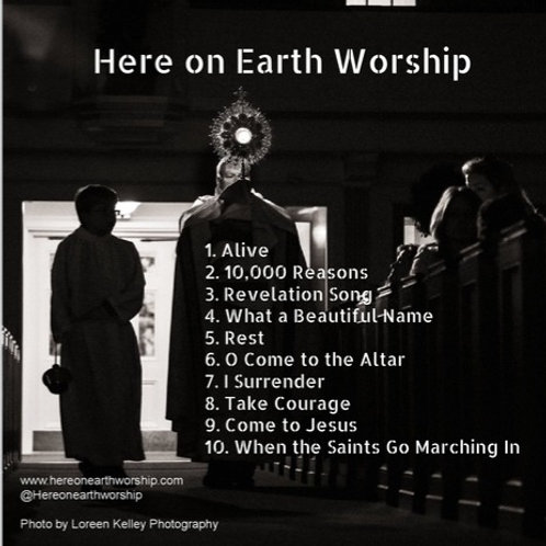 CD - Here On Earth Worship 2019