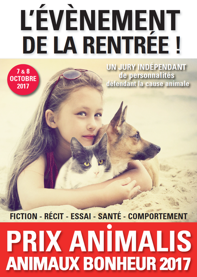 Le 1er Prix littéraire ANIMALIS - ANIMAUX BONHEUR