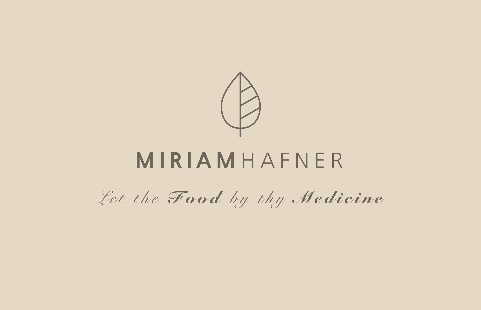Miriam Hafner Visitenkarte