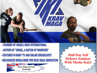 Auckland Krav Maga Seminar by Master Moshe Katz!