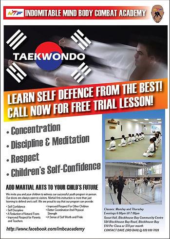 Indomitable Mind Body Combat Academy