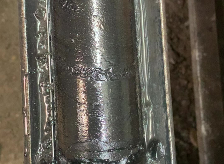 Gas bubbling from coal samples taken from the Nomgon-1 core-hole well